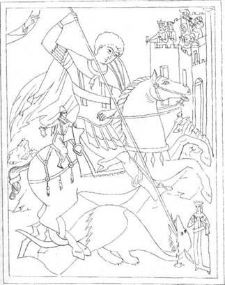 Эскизы тату Георгий Победоносец рисунки примеры